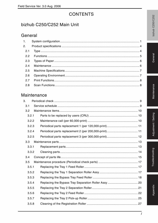 Konica-Minolta bizhub C250 C252 FIELD-SERVICE Service Manual-2